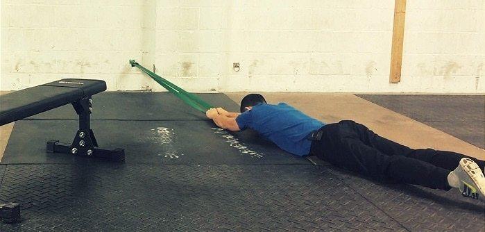 5 Sciatica Stretches - Prone Elastic Spinal Decompression