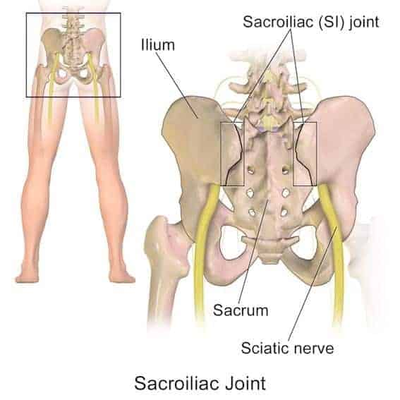 si joint stretches sacroiliac joint