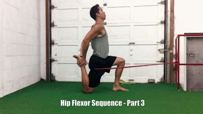 hip flexor stretches part 3