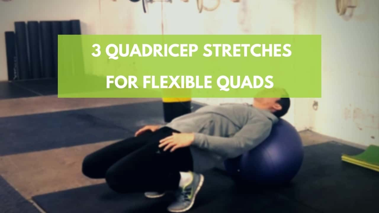 quadricep stretches