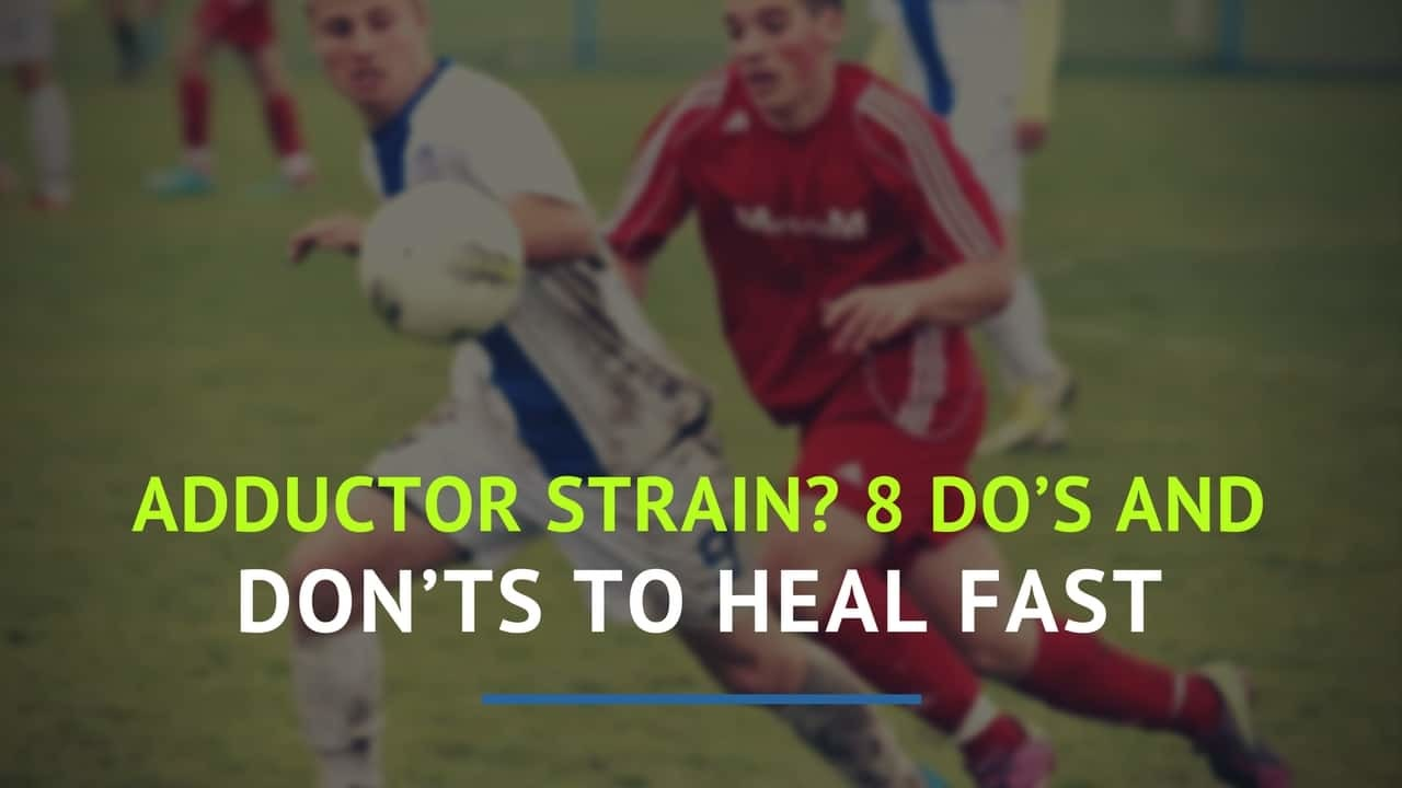 If you've got a pulled groin - or adductor strain and want to get better quickly, keep reading to learn 8 do's and don'ts that will help you heal fast! @PMovementCoach