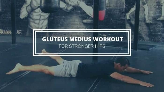 gluteus medius exercises - workout or stronger hips