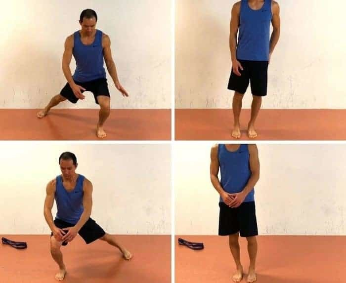 Exercise to fix patellar tracking disorder - Walking Adductor Lunge