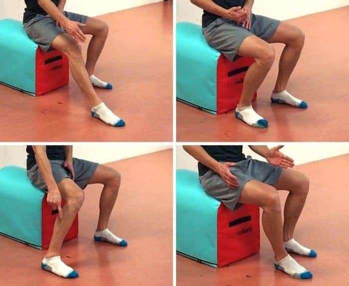 exercise to fix patellar tracking disorder - functional ankle mobility drill