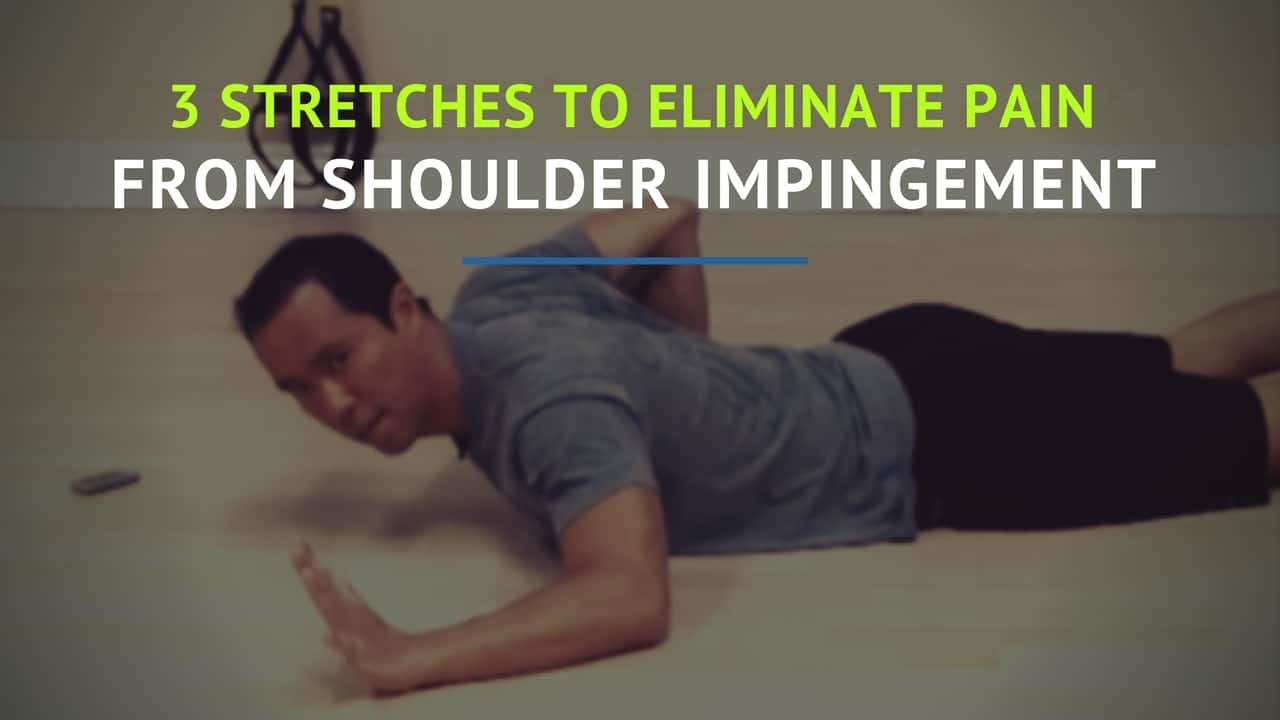 shoulder impingement stretches