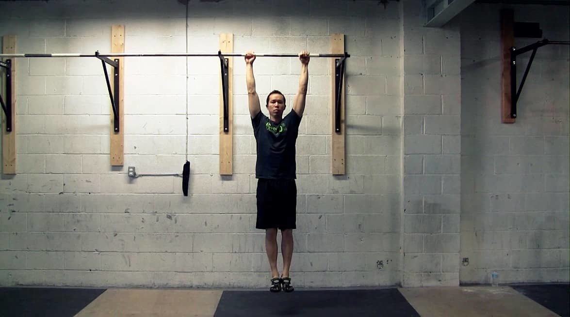 shoulder impingement stretches - hanging