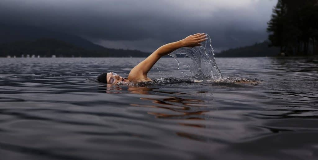 shoulder impingement stretches - swimmer