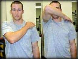 shoulder impingement stretches - test 1