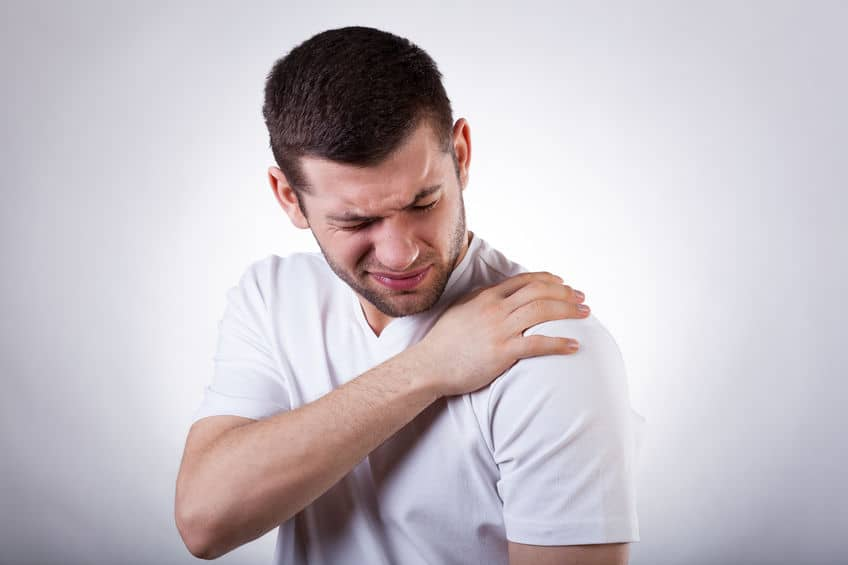 sprained ac joint - shoulder pain