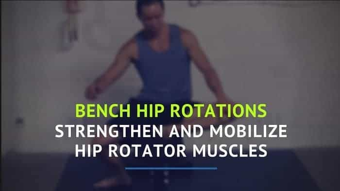 Simple drill to help you both strengthen and mobilize the hip rotator muscles