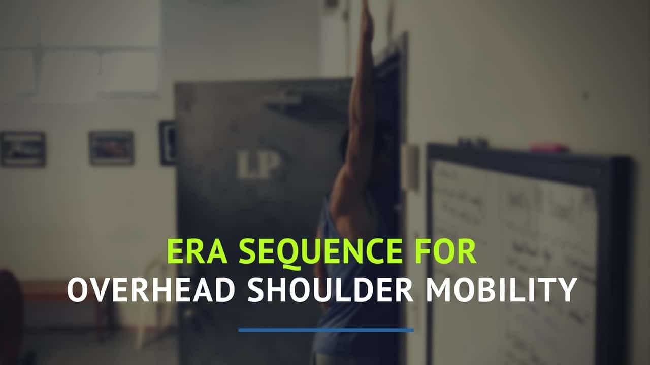 overhead shoulder mobility