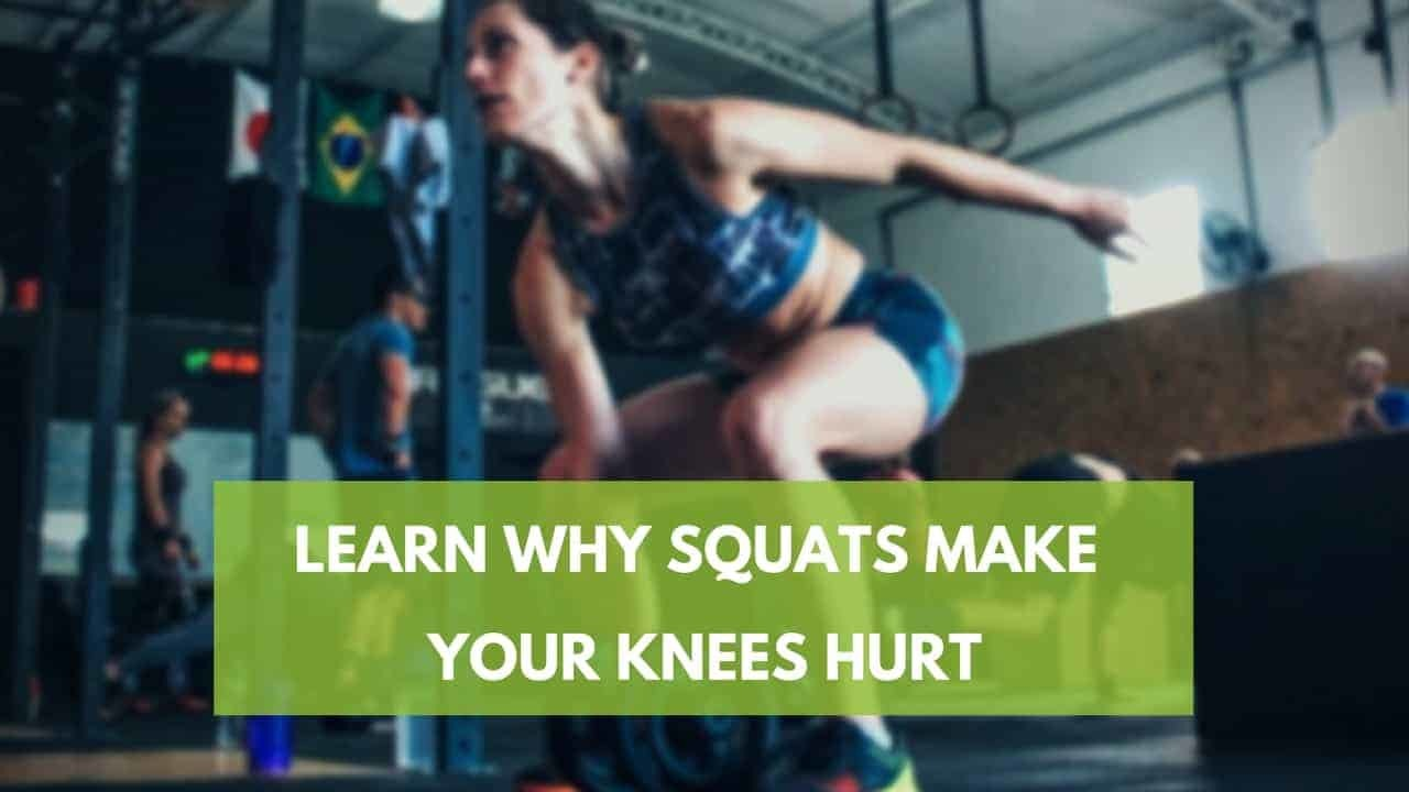 Sharp Knee Pain from Squatting [5 Little-Known Reasons]