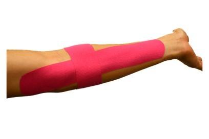 taping method - golfers elbow treatment