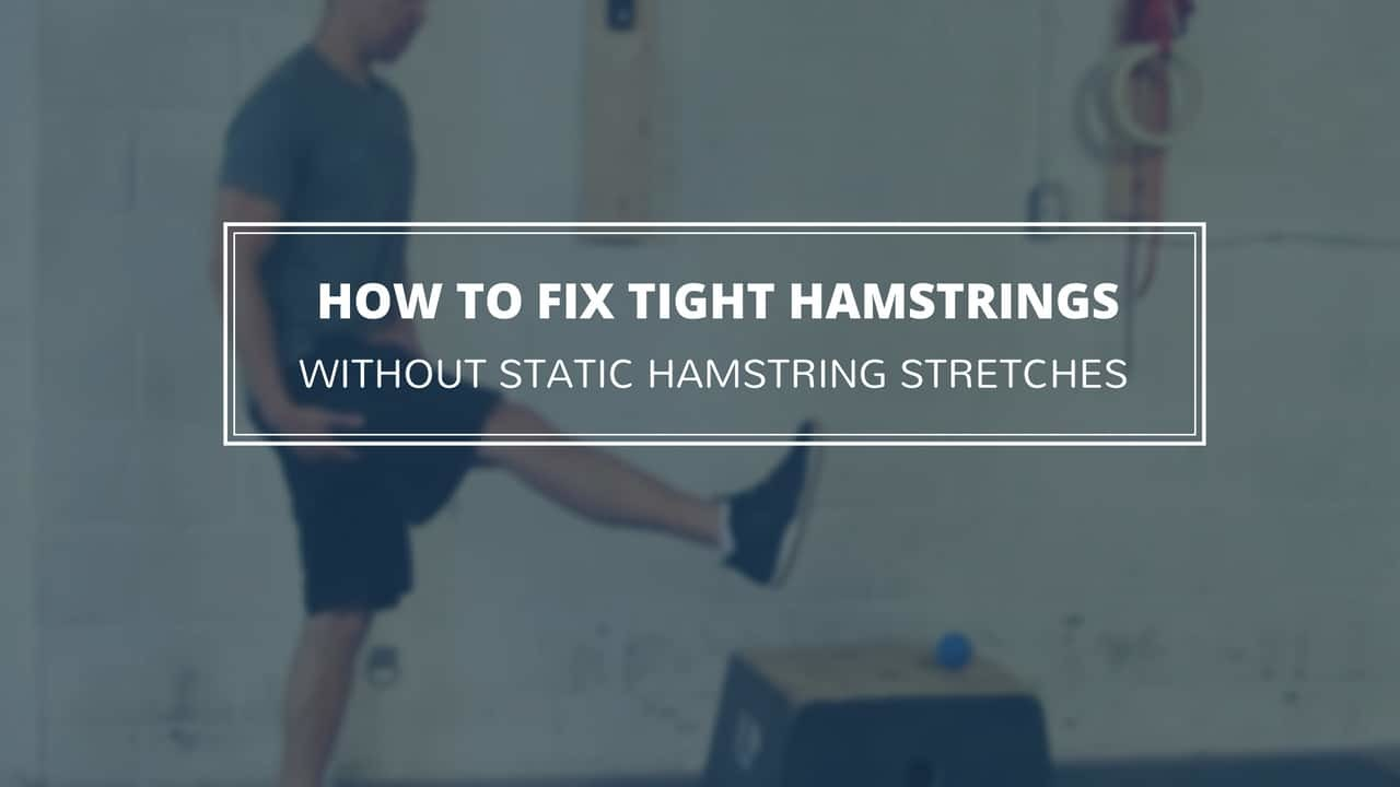 Tight hamstrings can cause pain, injury, and decreased performance. It's time to learn how to stretch tight hamstrings in a way that will give you lasting gains. https://www.precisionmovement.coach