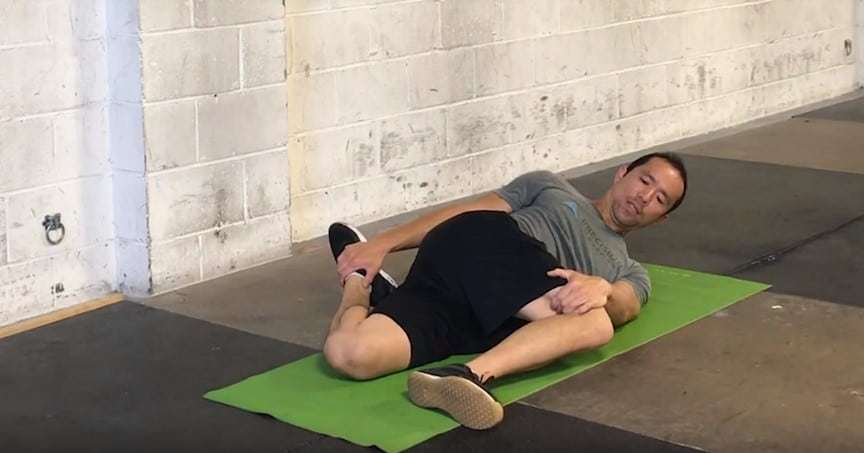 hip abductor stretches - brettzel stretch