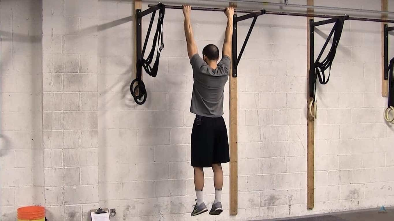 Pull Ups for Shoulders and Hand Grip Strength
