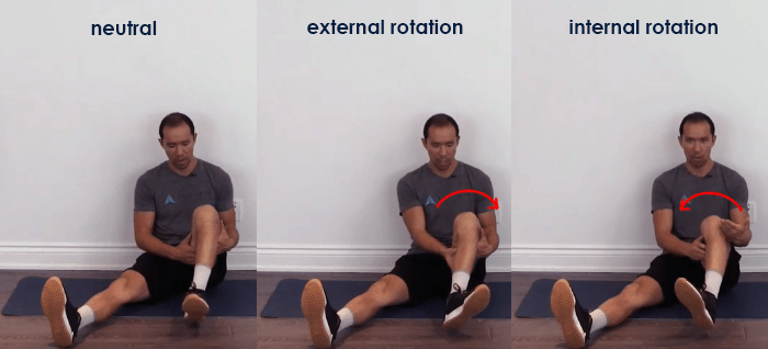 meniscus tear tests - tibial internal and external rotation