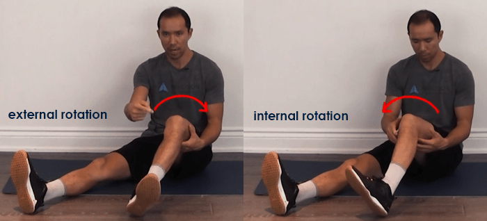 open tibial rotation - meniscus tear treatment