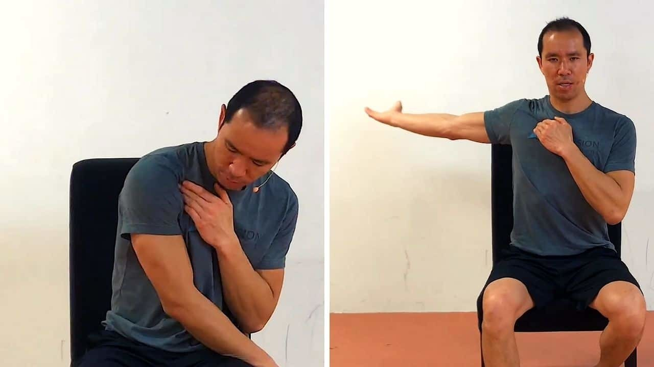 Active Self Myofascial Release - shoulder posture exercise