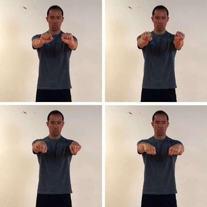 Wrist CARs (Fist) - golf warmup exercise