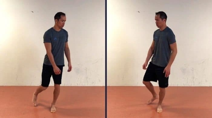 squat Hip IR/ER - golf warmup routine