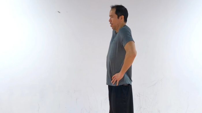 compression dysfunction low back pain when coughing
