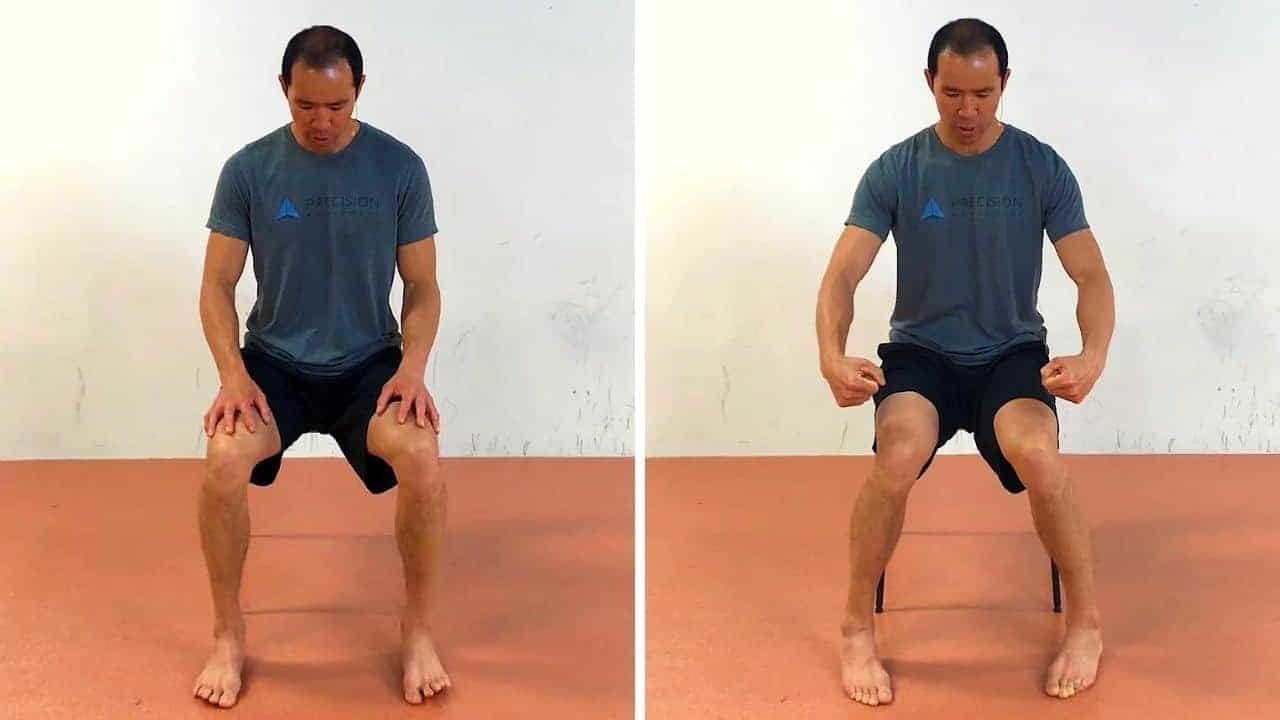 knee ankle feet exercises - big toe pivots