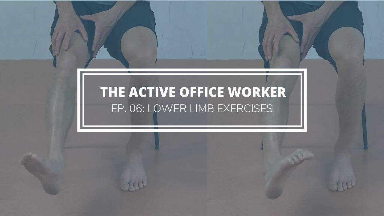 lower limb exercises active office worker