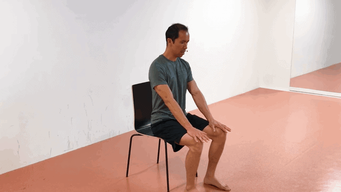office spine care exercise 1 -Anterior Torso ISO