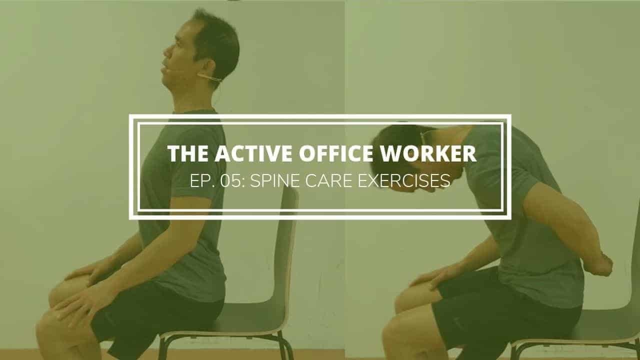 office spine care exercises 5
