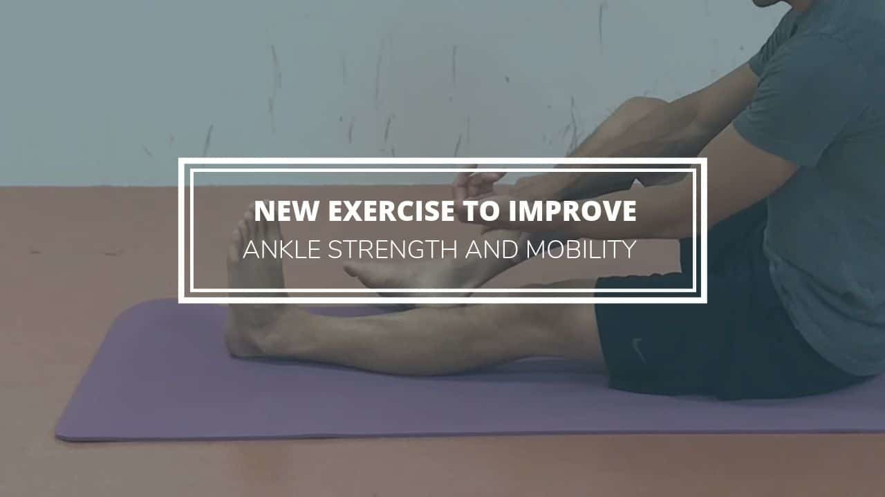 New Ankle Strengthening Sprained Ankle Rehab Exercise