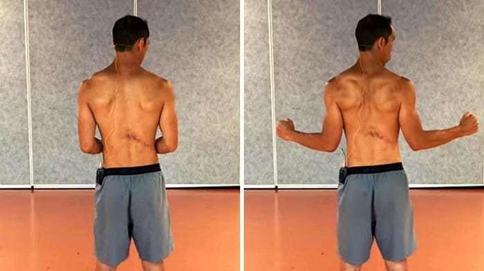 Shoulder Internal Rotation Exercise