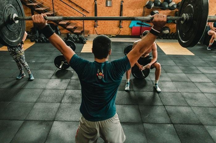 shoulder training exercise active athlete