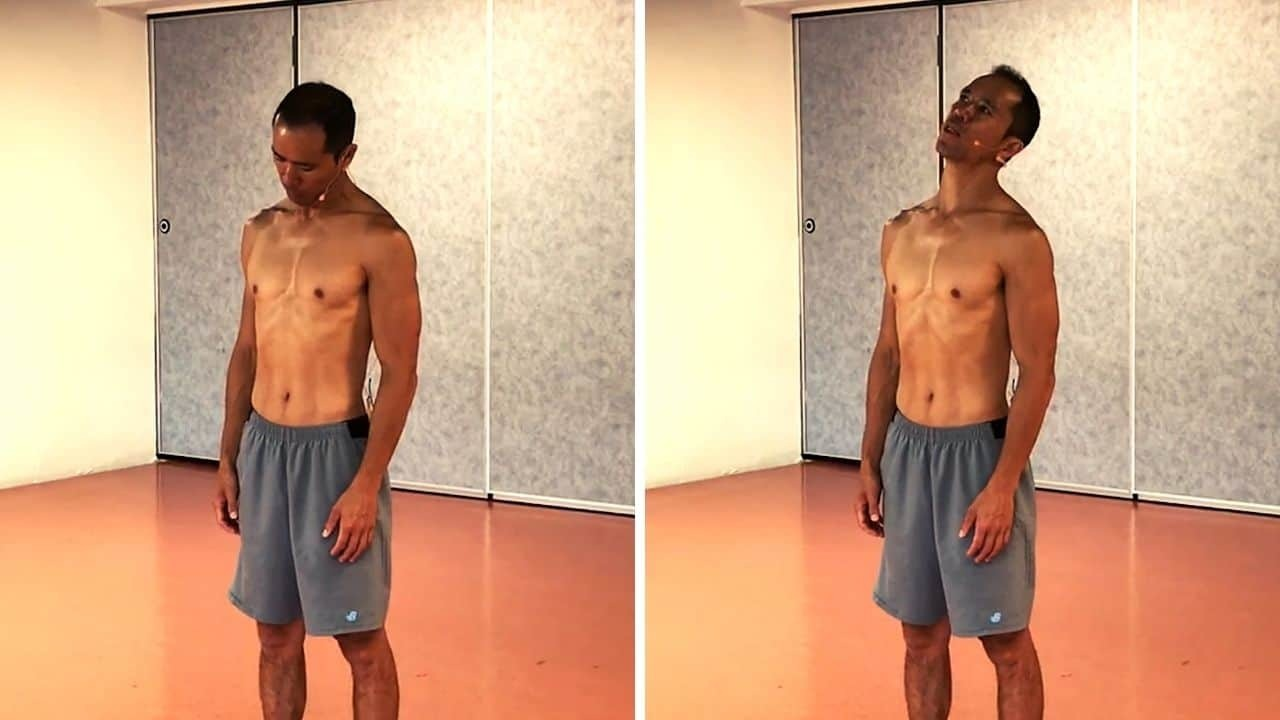 stiff neck exercise 01 - side bending