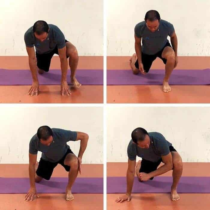squat mobility drill - Unilateral Deep Squat Level 2 ERE