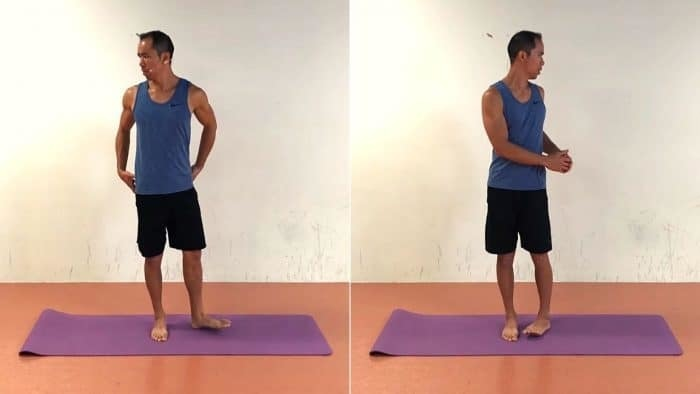 Exercise #1 to Improve Hip External Rotation - Standing Hip Rotation Dissociation