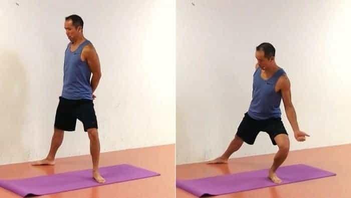 Exercise #3 to Improve Hip External Rotation - Hip External Rotation Split Squat