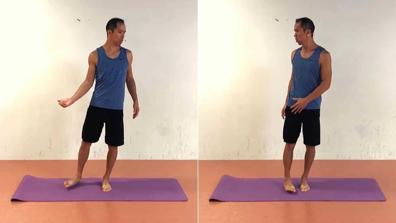 Hip Internal Rotation Exercises - Standing Hip Rotation Dissociation