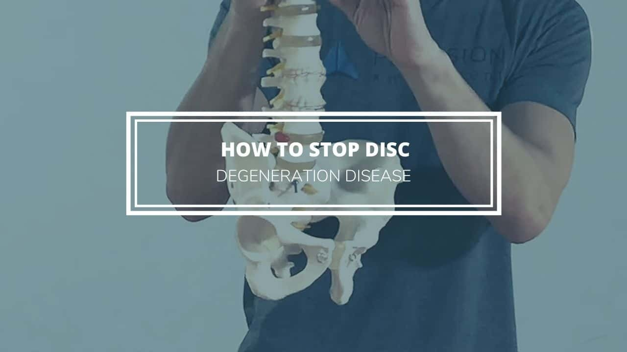 exercises to stop disc degeneration disease