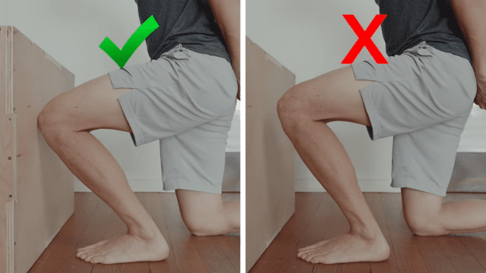 The weight bearing lunge test is an easy way to test your ankle dorsiflexion.